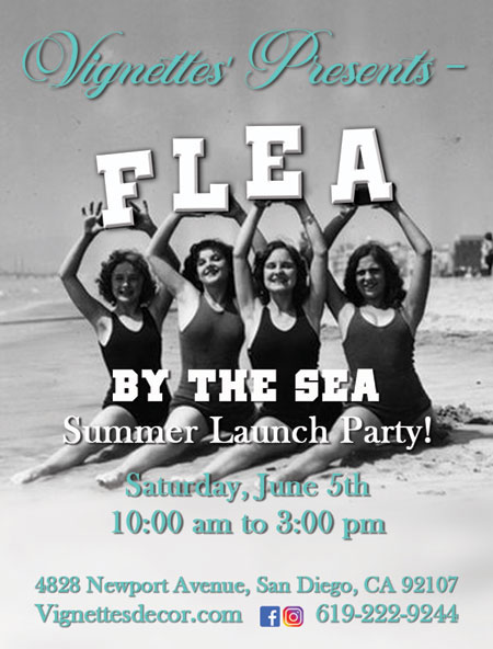 Flea by the Sea Summer Launch Party