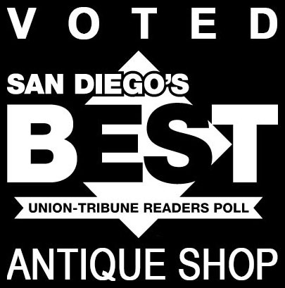 Voted Best Antique Shop in San Diego