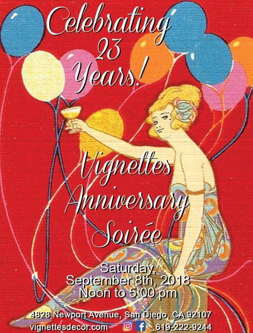 23rd Anniversary Soirée