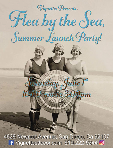 Flea by the Sea - Summer Launch Party