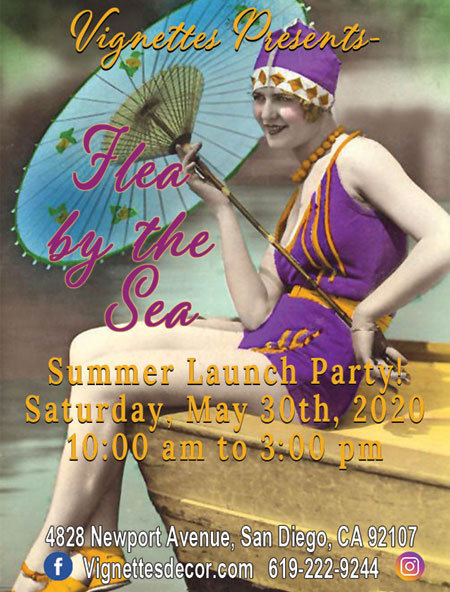 Flea By The Sea Summer Launch Party!